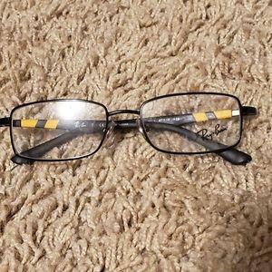 Ray-Ban RB 1030 Eyeglasses Black and Yellow